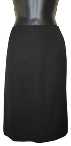 Jos. A. Bank Lined Wool Pencil Dryclean Only Skirt Black