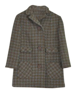 Vintage Tweed Wool 1960s Coat