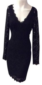 ADRIANNA PAPELL Designer Dress Size 10 Medium Large L Lace Bodycon Formal 8 12 . Dress