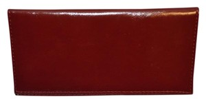Giani Bernini Red Leather Checkbook