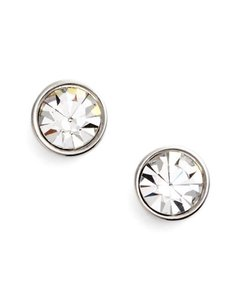Kate Spade Kate Spade Women's Metallic 'forever' Stud Earrings, New!