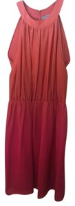 Antoni Melani short dress Coral on Tradesy