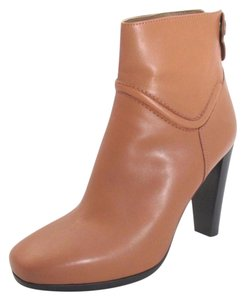 Herms Calfskin Ankle Boot Designer Brown Boots