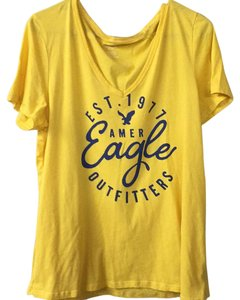 American Eagle Outfitters T Shirt Gold