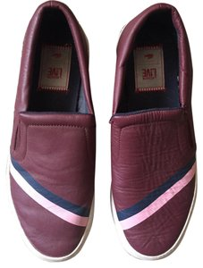 Lacoste Burgundy Flats