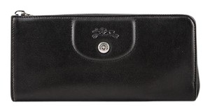 Longchamp Longchamp Le Pliage Cuir Long zip-around wallet