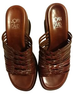 Joan & David Hazelnut Brown Platforms