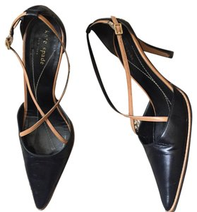 Kate Spade Black/tan Pumps