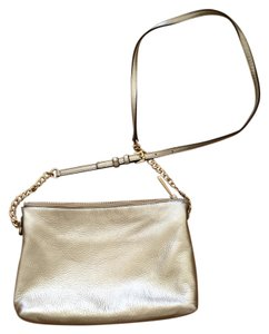 Michael Kors Gold Cross Body Bag
