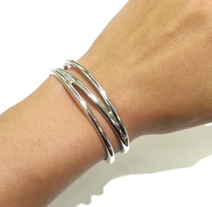 Tiffany & Co. Tiffany & Co Sterling Silver Zig Zag Cuff Bracelet Fit 7