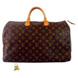 Louis Vuitton Vintage Speedy Speedy40 Satchel in Brown