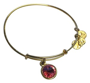 Alex and Ani october pink birthstone