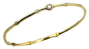Ippolita IPPOLITA 18K GOLD & DIAMOND BANGLE