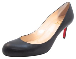 Christian Louboutin Kid Leather Timless Black Pumps
