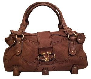 RED Valentino Stones Satchel in taupe