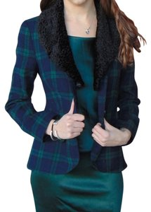 Steven Alan Bristol Hunter Green, blue, black Blazer