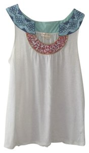 Anthropologie/Meadow Rue #anthropologie Top White