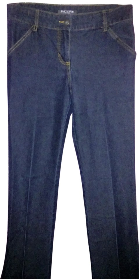 Bisou Bisou Jeans Womens Size 4 Dark Wash Stretchy Denim Flare Michele Bohbot. BISOU BISOU · 4. $ or Best Offer. Free Shipping. LADIES BISOU BISOU JEANS, BLACK EMBOSSED, NWT's-SZ 8 HOLIDAY. Brand New. $ Time left 3d 12h left. 0 bids. or Best Offer +$ shipping.