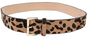 B-Low the Belt Leopard Jean Calf Hair - Size Medium