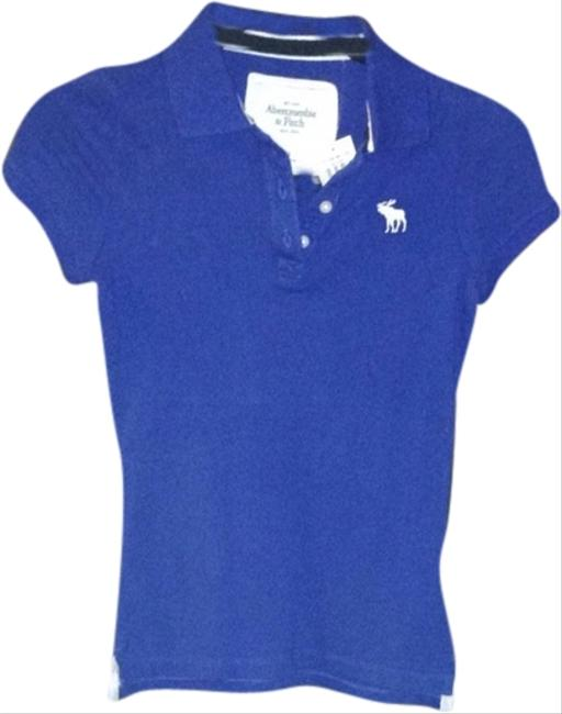 Abercrombie Fitch Polo T Shirt Blue 40 Off Retail