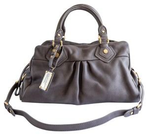 Marc by Marc Jacobs Classic Q Satchel in Aluminium