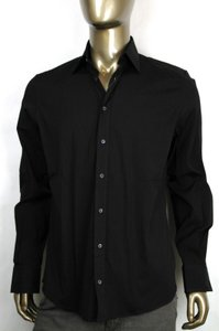 Gucci Fitted Cotton/elastane Button-down Dress Shirt 41/16 221620 1000