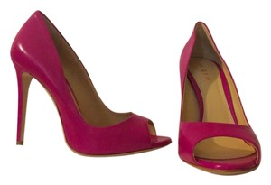 M. Gemi Open Toe Raspberry Pumps