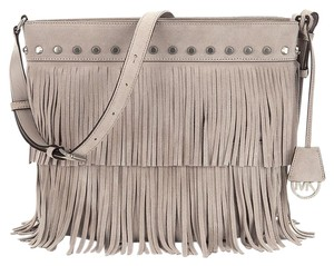Michael Kors Fringe Suede Soft Designer Shoulder Bag