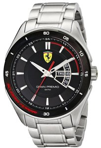 Ferrari Ferrari Men's 0830189 Gran Premio Silver-Tone Stainless Steel Watch