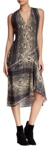 Haute Hippie Free Silk Snake Print Dress