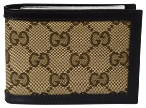 Gucci GUCCI 233157 Men's Mini GG Supreme Canvas Wallet