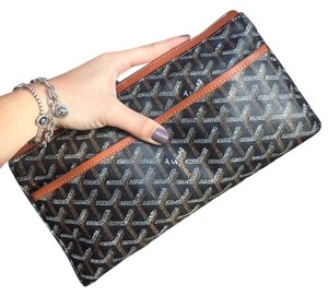 Goyard Brown Clutch