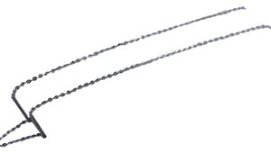 Other 14K White Gold Cable Chain ~1.00mm 16 Inches