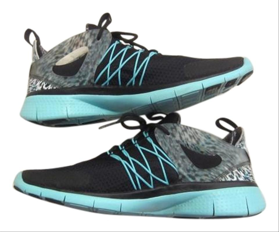huge selection of d63af d2895 Nike Black and Turquoise Free Viritous Running Sneakers Size US 9.5 Regular  (M, B)