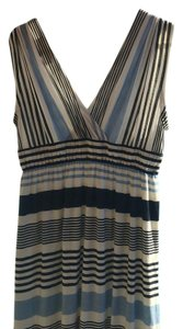 Ann Taylor LOFT short dress Blue and white stripe on Tradesy