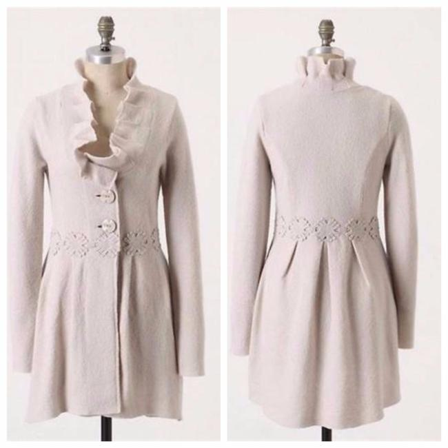 Item - Ivory L Alice In Autumn Sweater By Charlie & Robin Coat Size 12 (L)