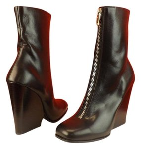 Céline Celine Wedge Maroon Boot Bordeaux Boots