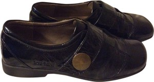 Josef Seibel Chic Black Flats