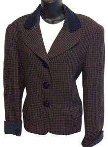 Dior Brown/Navy Blue Blazer