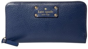 Kate Spade Neda Wellesley French Navy Clutch