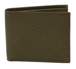 Gucci GUCCI 260987 Men's Diamante Leather Bifold Wallet, Bengal