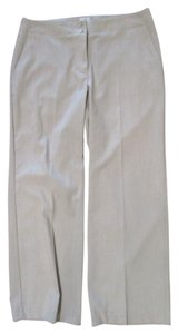 Chico's Leg Trousers Straight Pants Beige