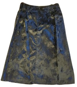Charles Gray London Chic Faux Fur Skirt Black