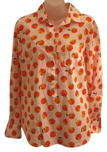 J.Crew Button Down Shirt Orange
