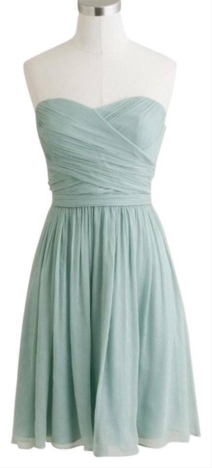 J.Crew Mint Green Above Knee Cocktail Dress Size 2 (XS) - Tradesy