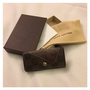 Louis Vuitton Label Collection 4 Ring Key Holder