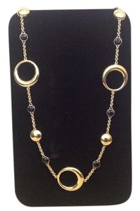 Chimento Chimento 18K Yellow Gold and Onyx Necklace