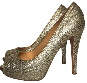 Badgley Mischka Gold multi Platforms