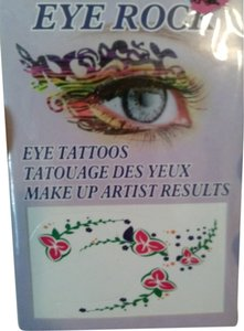 Other Eye Tattoo Makeup Decals NEW