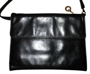 Perlina Leather Clutch Cross Body Bag